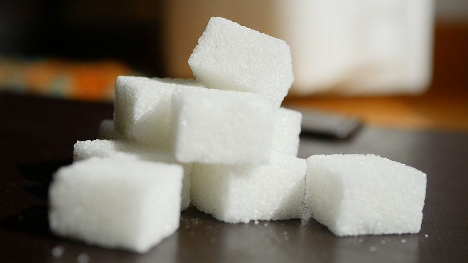 Zucker im Kraftfutter